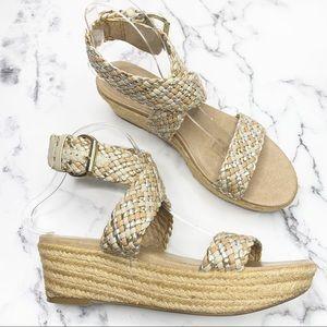 JESSICA SIMPSON Espadrille Sandals Size 8.5